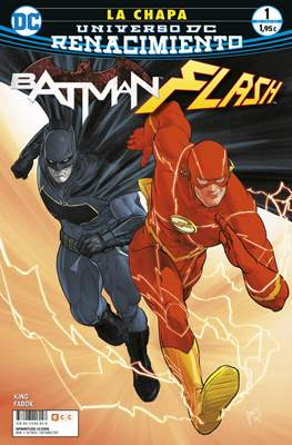 Batman / Flash: La chapa. Renacimiento. (Grapa 24 pp) #1