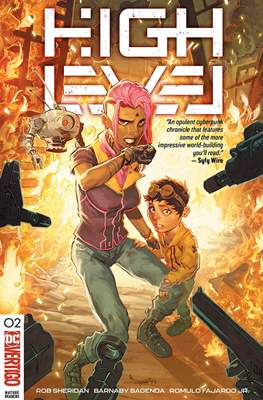 High Level (Comic Book) #2