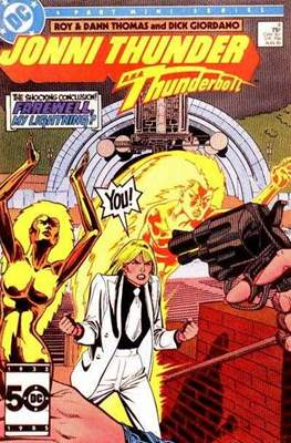 Jonni Thunder (Comic Book) #4