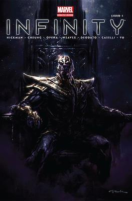 Infinity - Marvel Monster Edition (Portada alternativa)