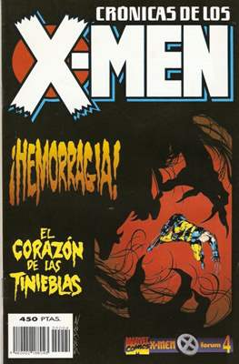Crónicas de los X-Men (1995-1996) (Grapa. 17x26. Color.) #4