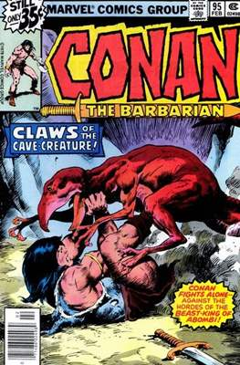 Conan The Barbarian (1970-1993) (Comic Book 32 pp) #95