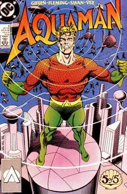 Aquaman Vol. 3 (1989) #5