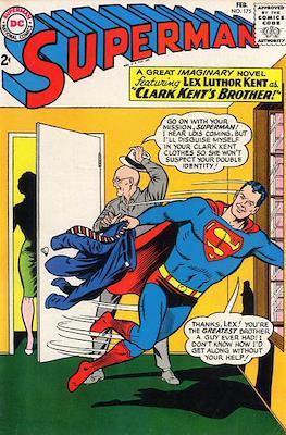 Superman Vol. 1 / Adventures of Superman Vol. 1 (1939-2011) (Comic Book) #175