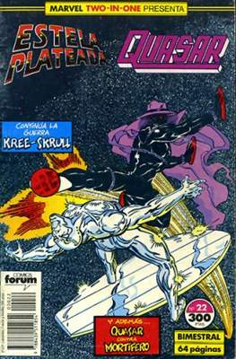 Estela Plateada Vol. 1 / Marvel Two-In-One: Estela Plateada & Quasar (1989-1991) (Grapa 32-64 pp) #22