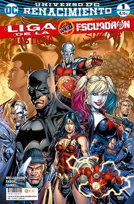 Liga de la Justicia contra Escuadrón Suicida. Renacimiento (Grapa 64 pp) #1