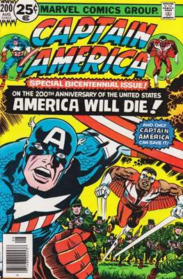 Captain America Vol. 1 (1968-1996) (Comic Book) #200
