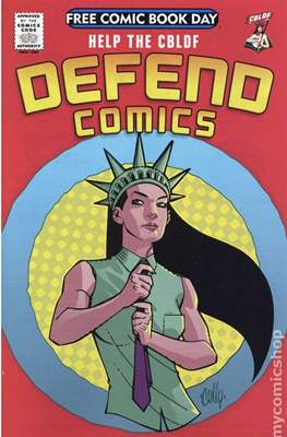 Defend Comics (2014 CBLDF) Free Comic Book Day