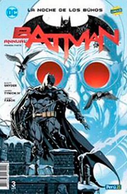 Batman: La noche de los buhos (Grapas) #3