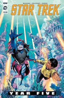 Star Trek: Year Five (Comic Book) #10