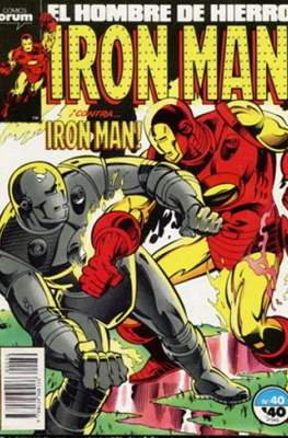 Iron Man Vol. 1 / Marvel Two-in-One: Iron Man & Capitán Marvel (1985-1991) (Grapa, 36-64 pp) #40