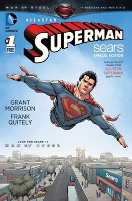 All Star Superman (Variant Cover) #1.2