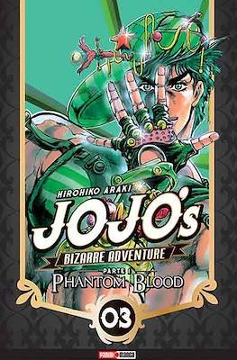 JoJo's Bizarre Adventure Parte 1 Phantom Blood (Rústica con solapas) #3
