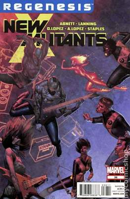 New Mutants Vol. 3 (Comic Book) #36