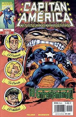 Capitán América: Centinela de la libertad (1999-2000) (Grapa 28-36 pp) #10
