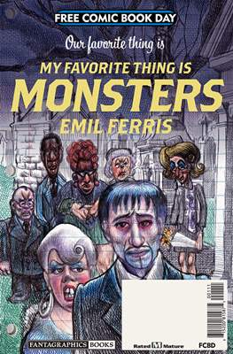 My Favorite Thing is Monsters - Free Comic Book Day 2019