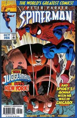 Spider-Man (Vol. 1 1990-2000) (Comic Book) #84