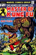 Master of Kung Fu (Comic Book. 1974 - 1983. Continued from Special Marvel Edition #16) #19