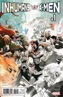 Inhumans vs. X-Men (Variant Cover) (Comic Book) #1.6