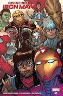 Invincible Iron Man (Vol. 3 2017-2018) (Grapa) #5
