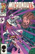 The Micronauts The New Voyages (Comic Book) #4