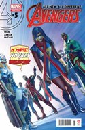 All-New All-Different Avengers (2016-2017) (Grapa) #5