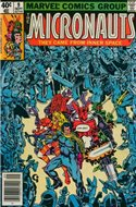 The Micronauts Vol.1 (1979-1984) (Comic Book 32 pp) #9