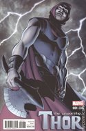 The Unworthy Thor (Variant Cover) (Comic Book) #1.5
