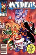 The Micronauts The New Voyages (Comic Book) #1