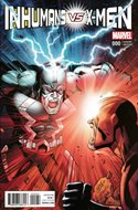 Inhumans vs. X-Men (Variant Cover) (Comic Book) #0.1