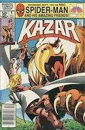 Ka-Zar the Savage Vol 1 (Grapa) #9