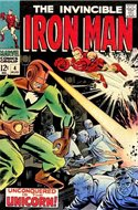 Iron Man Vol. 1 (1968-1996) (Comic book) #4