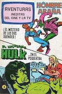 Aventuras Inéditas del Cine y la TV (Grapa 52 pp) #3