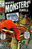 Where Monsters Dwell Vol.1 (1970-1975) (Grapa, 32 págs.) #2