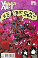 Amazing X-Men Vol. 2 (Variant Covers) (Comic Book) #1.4