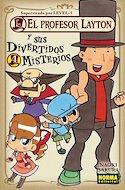 El profesor Layton y sus divertidos misterios (Rústica con sobrecubierta) #4