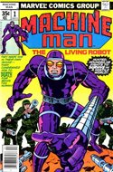Machine Man Vol. 1 (Comic Book) #1