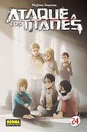 Ataque a los Titanes (Rústica con sobrecubierta) #24