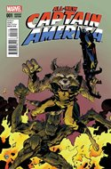 All-New Captain America (Variant Cover) (Comic Book) #1.2
