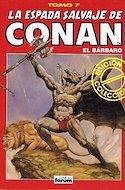 La Espada Salvaje de Conan el Bárbaro. Edición coleccionistas (Rojo) (Cartoné. 192 páginas. B/N. (1997).) #7