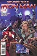 Invincible Iron Man (Vol. 3 2017-2018) (Grapa) #8