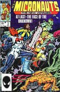 The Micronauts The New Voyages (Comic Book) #2