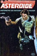Asteroide, Historietas de Fantasía y Ciencia Ficción (Cartoné) #4