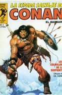 La Espada Salvaje de Conan. Vol 1 (1982-1996) (Grapa. B/N.) #4