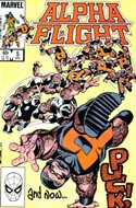 Alpha Flight vol. 1 (1983-1994) (Comic Book) #5