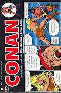 Conan. Los daily-strip comics (1989) (Grapa. 17x26 apaisado. 48 páginas. B/N.) #2