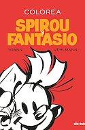 Colorea Spirou y Fantasio (Rústica 96 pp) #
