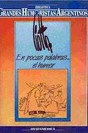 Biblioteca Grandes Humoristas Argentinos (Rústica 150 pp) #5