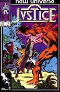 Justice. New Universe (1986) (Grapa.) #5