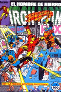 Iron Man Vol. 1 / Marvel Two-in-One: Iron Man & Capitán Marvel (1985-1991) (Grapa, 36-64 pp) #4